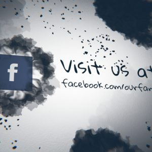 Ink Splatter Facebook
