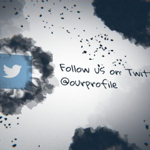 Ink Splatter Twitter