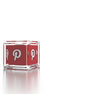 Social Icons Cube Pinterest