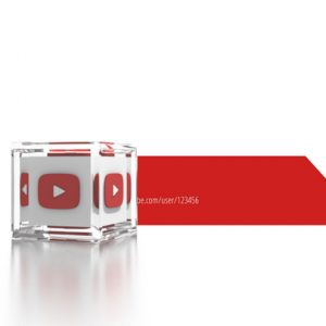Social Icons Cube Youtube