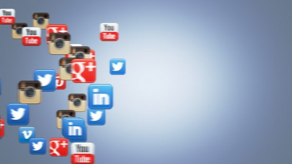 Social Icons Floating Instagram