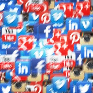 Social Icons Vortex Linkedin